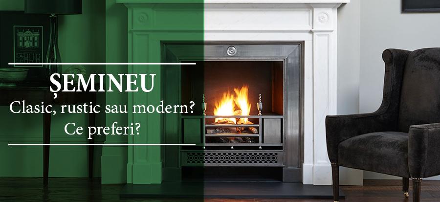 Semineu clasic, rustic sau modern? Ce preferi?